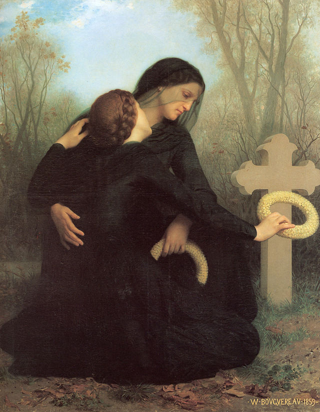 The Day of the Dead William Adolphe Bouguereau (1825-1905)