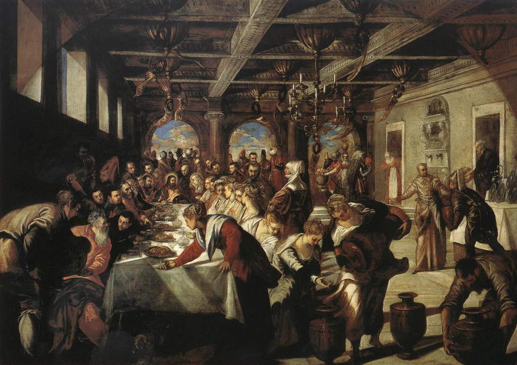 The Wedding Feast, Tintoretto