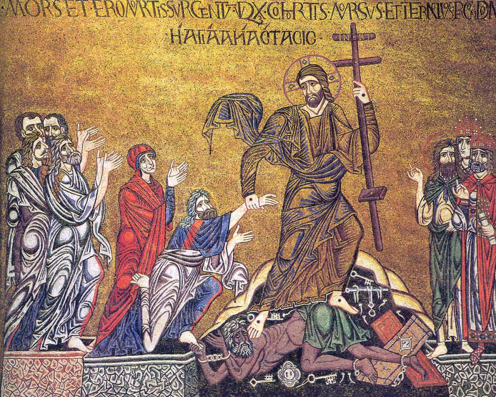 Icon of Jesus' Descent into Hell from the Basilica Cattedrale Patriachale di San Marco