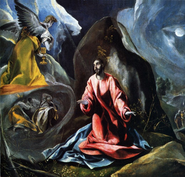 El Greco - The Agony in the Garden