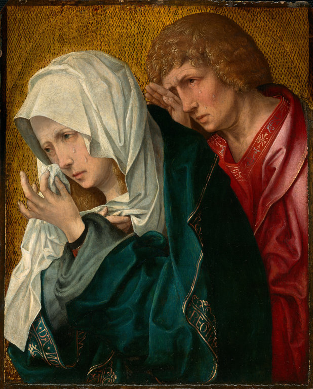 The Apostle John with Mary