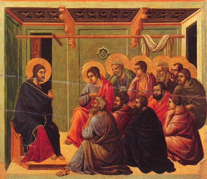 Jesus with His Apostles after His Resurrection
