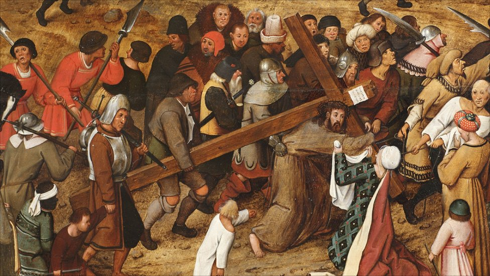 Pieter Brueghel the Younger, The Procession to Calvary (1602)