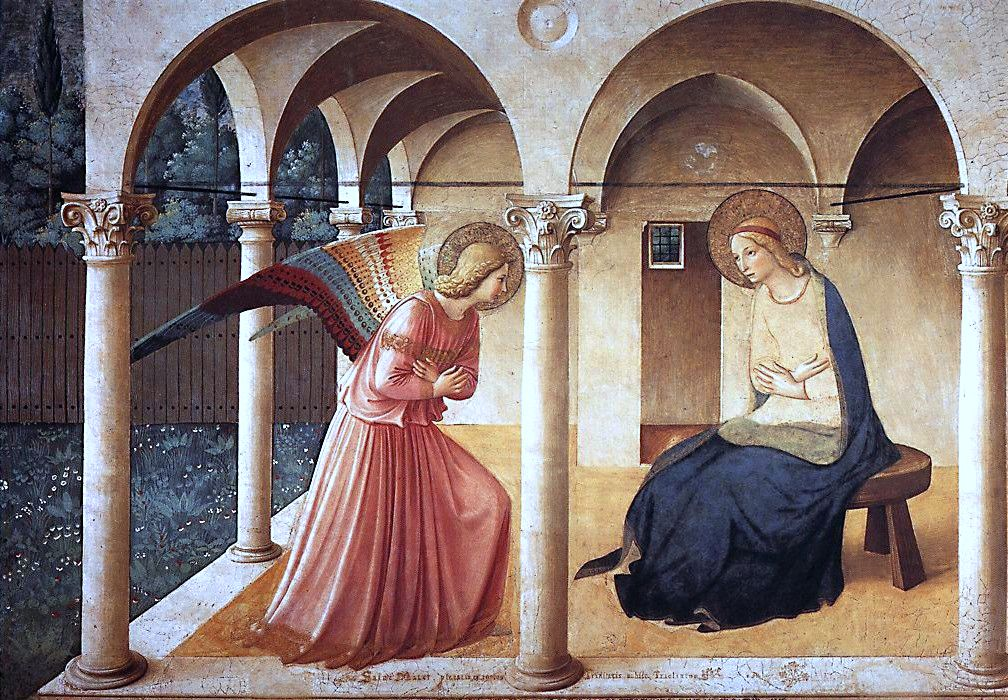 The Annunciation, Fra Angelico (1437)