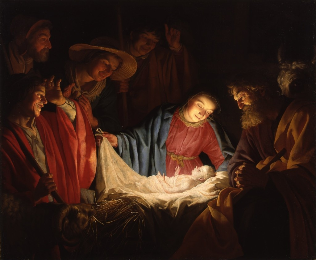 Adoration_of_the_Shepherds_(1622) Gerard_van_Honthorst_-_