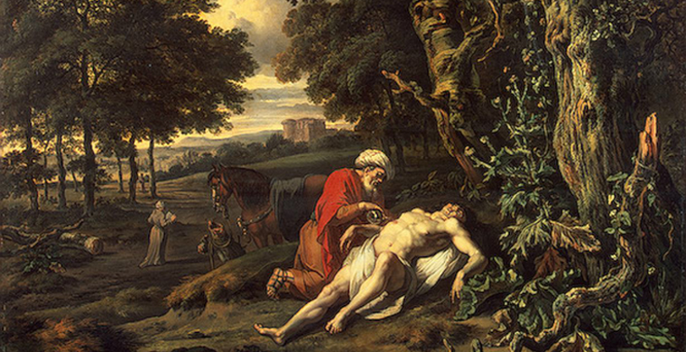 Jan Wijnants, The Good Samaritan, 1670