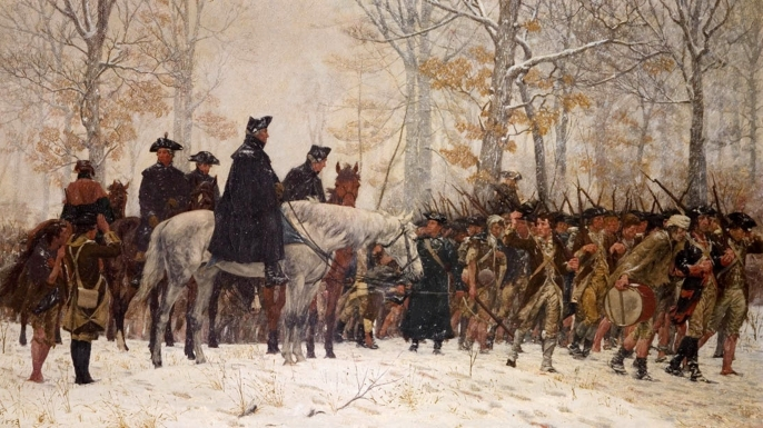 The March to Valley Forge, William B. T. Trego (1858-1909)