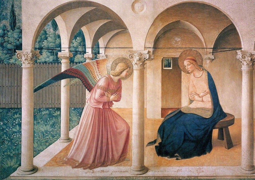 The Annunciation, Fra Angelico (1437-1446)